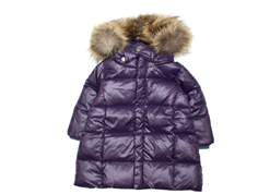 Ver de Terre baby down winter jacket blackberry